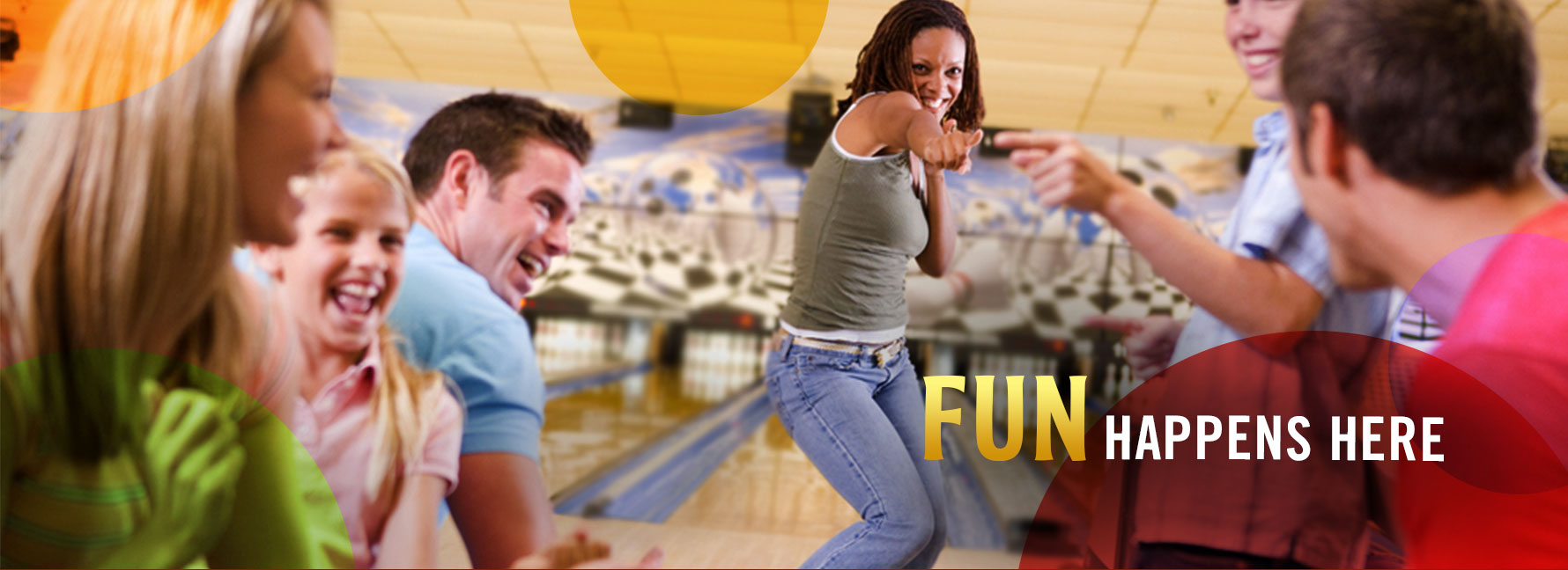 Bowling Fun Happens At Our Center